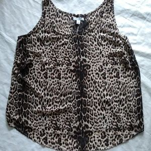 Old Navy animal print top